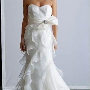 Badgley Mischka Wedding Gown